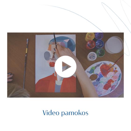 Agnė Kišonaitė tapybos pamokos internetu - video pamokos