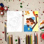 """Tapybos pamokos vaikams """"Išmok tapyti"""": Bezdžionėlė"""